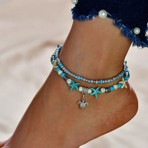 🛍NEW⚡️ Turtle ankle bracelet